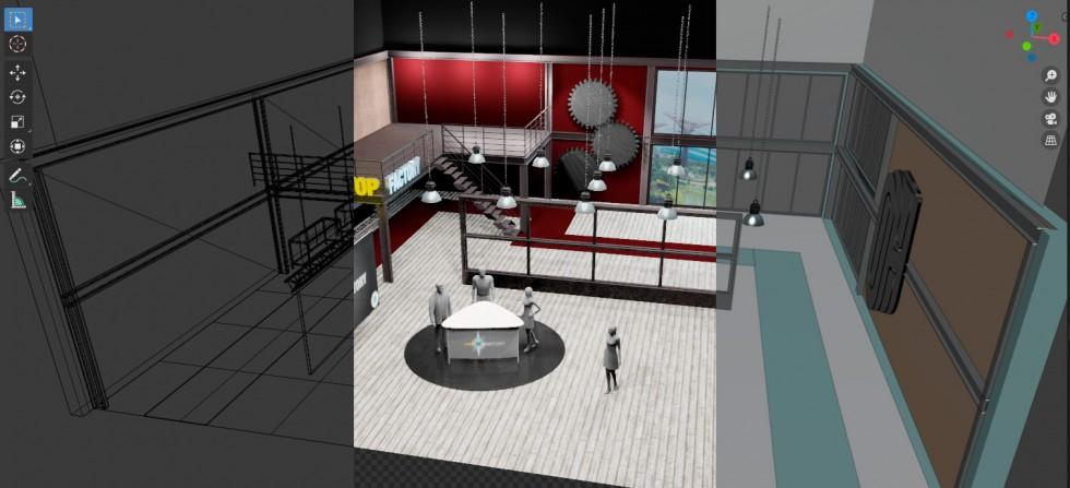 Virtual Studio Building