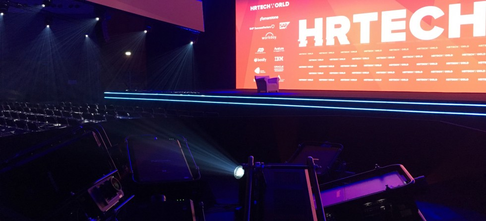 HR Tech World 2017 Video Projectors