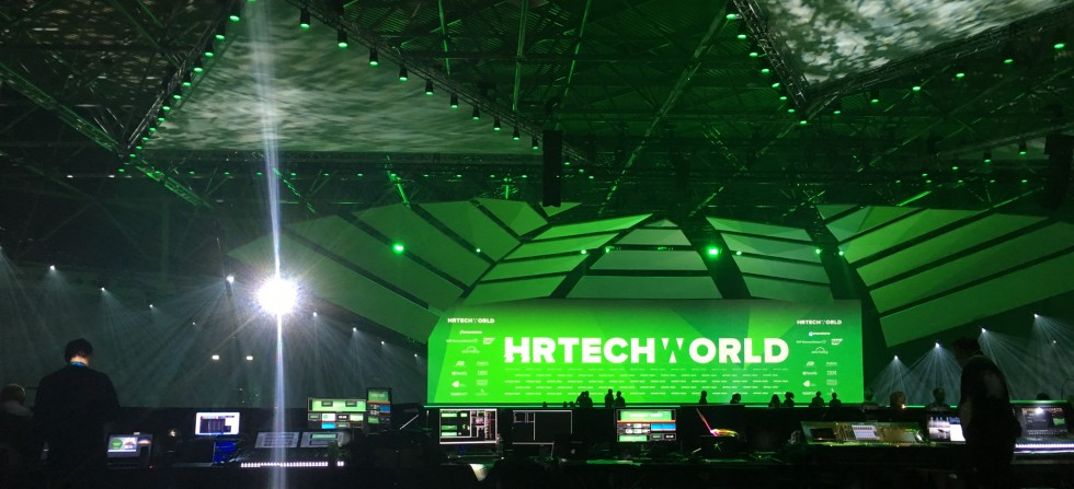 HR Tech World 2017 Stage and control