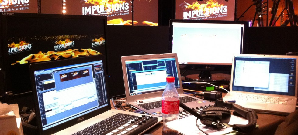 Impulsions Flame Control Desk