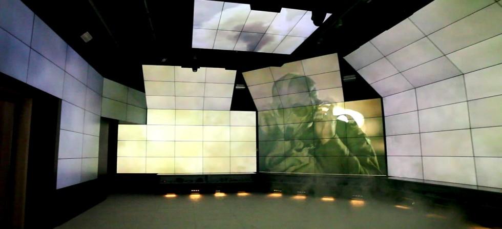 SJMC Vidémus Watchout - salle immersive
