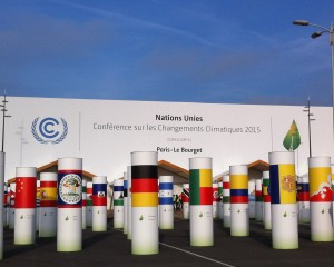 COP21 Paris Site entrance